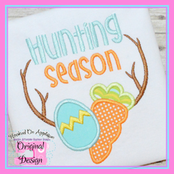 Hunting Season Applique