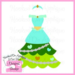 Jasmine Tree Dress CUT FILE
