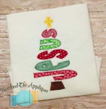 Jesus Tree Applique