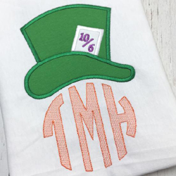 Mad Hat Applique
