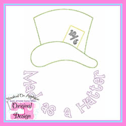 Mad as a Hatter Vintage Stitch