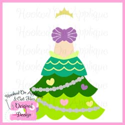 Mermaid Tree Dress CUT FILE