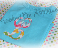 Monogram KK Raggy Applique Font