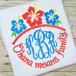 Ohana Means Family Design