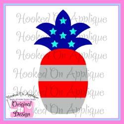 Patriotic Pineapple CUT FILE