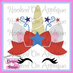 Patriotic Unicorn CUT FILE
