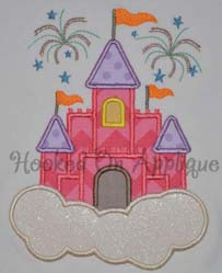 Castle in the Clouds Applique