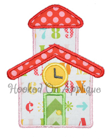 School House Applique