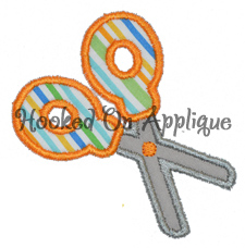 Scissors Applique