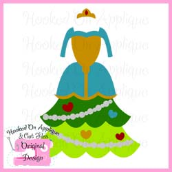 Scottish Princess Tree Dress CUT FILE