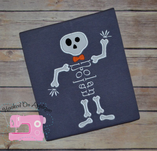 Skeleton Applique