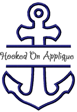 Split Anchor applique