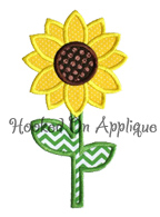 Sunflower1 Applique