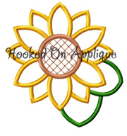Sunflower 2 Applique