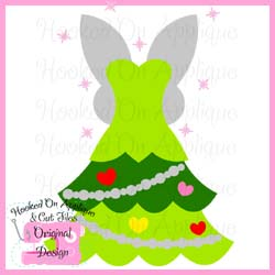 Tink Tree Dress CUT FILE