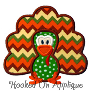 Turkey 4 Applique