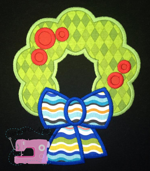 Wreath Applique