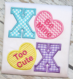 XOXO Applique