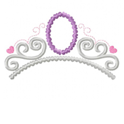 Amulet Tiara Applique