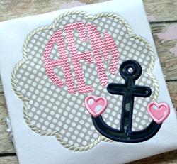 Heart Anchor Scallop
