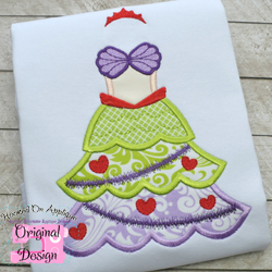 Mermaid Tree Dress Applique