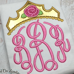 Briar Rose Tiara Applique