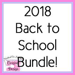 2018 Back to School Bundle