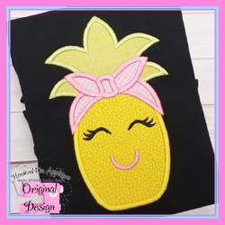 Pineapple Bandanna Applique