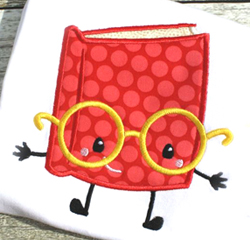 Book Buddy Applique