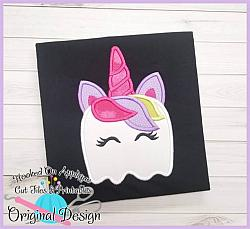 BOOnicorn Applique