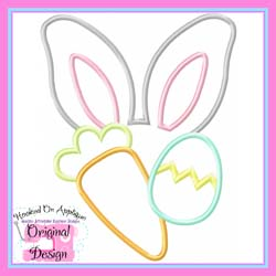Bunny Ears Boy Applique