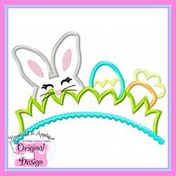 Bunny Tiara Applique