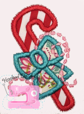 Candy Cane Applique