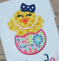 Chick Egg Applique