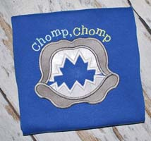 Chomp Chomp Applique