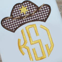 Cowboy Hat 2 Applique