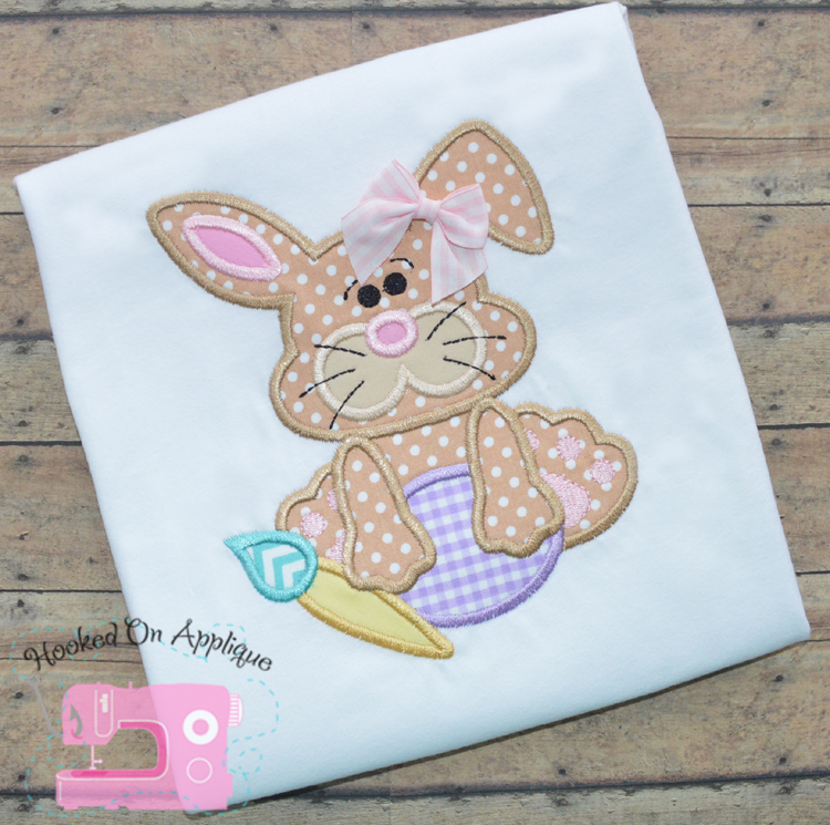 Cute Bunny 2 Applique