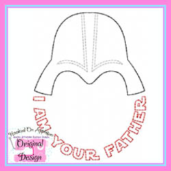 I Am Your Father Vintage Stitch