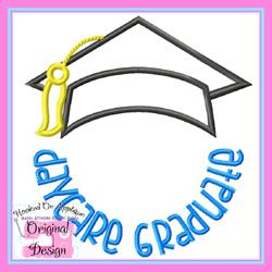 Daycare Graduate 2 Applique