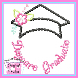 Daycare Graduate Applique