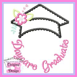 Daycare Graduate Applique