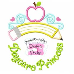 Daycare Princess Applique