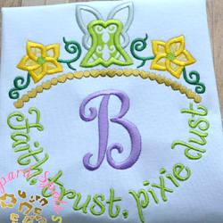 #HOA458 Faith, Trust, Pixie Dust Applique