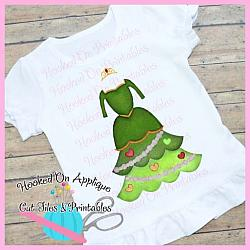 Fiona Tree Dress PNG Printable
