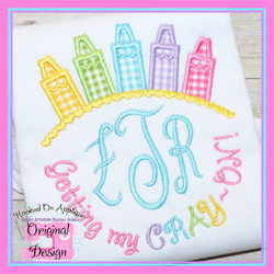 Getting My CRAYON Girl Applique