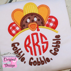 Gobble Gobble Applique