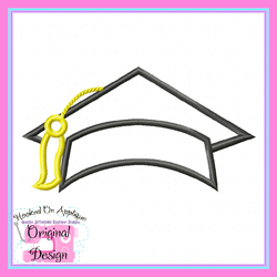 Graduation Cap 2 Applique