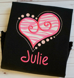 Heart 2 Applique