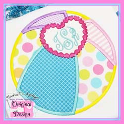 Heart Beach Ball Applique