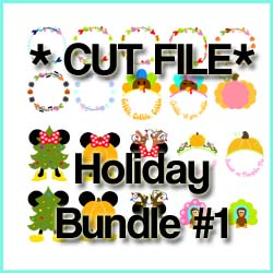 Holiday CUT FILE Bundle 1